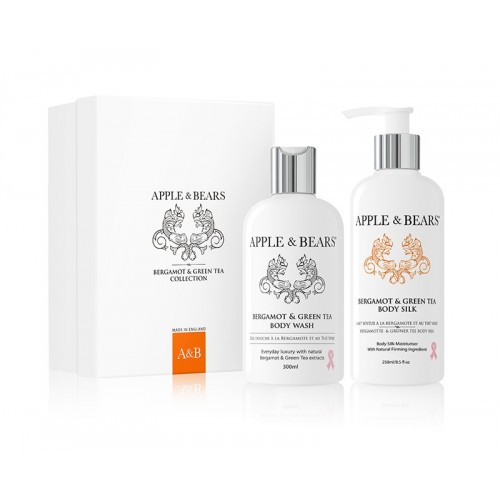 APPLE & BEARS Bergamot & Green Tea Gift Set