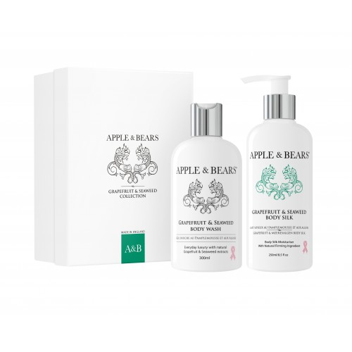 APPLE & BEARS Grapefruit & Seaweed Gift Set
