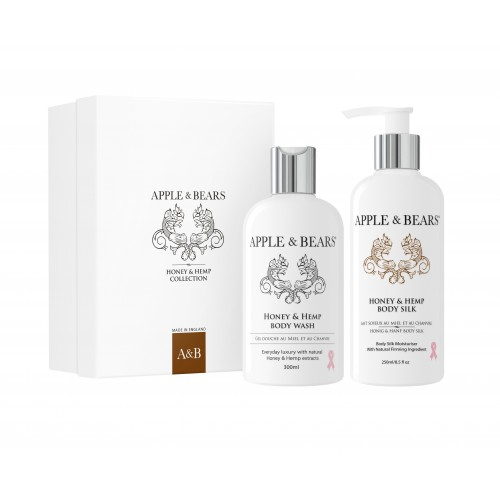 APPLE & BEARS Honey & Hemp Body Gift Set
