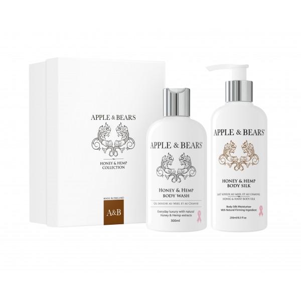 APPLE & BEARS Honig & Hanf Body Geschenk-Set