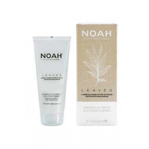 NOAH LEAVES-NÄHRENDE Shampoo mit Bambus-Blätter
