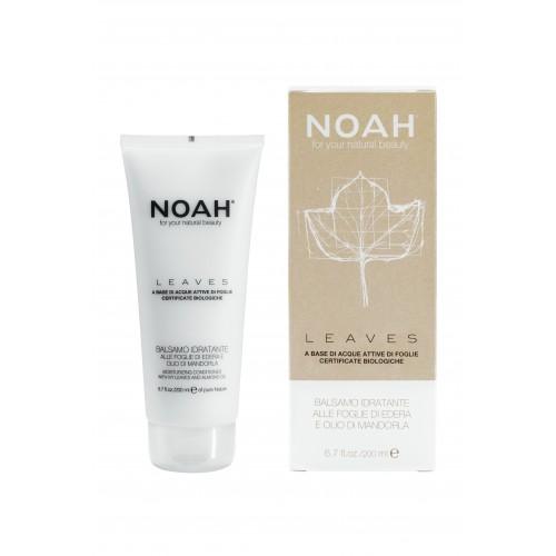 NOAH LEAVES – FEUCHTIGKEITS-ORGANISCHE HAARKUR mit Efeu-Blättern und Mandelöl 200ml