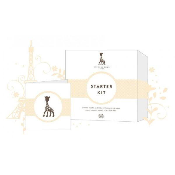 Sophie la girafe Baby Starter Kit, 4 x 20ml + Grüsskarte