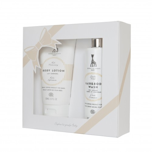SOPHIE LA GIRAFE BODY LOTION UND HAAR & BODY WASH SET