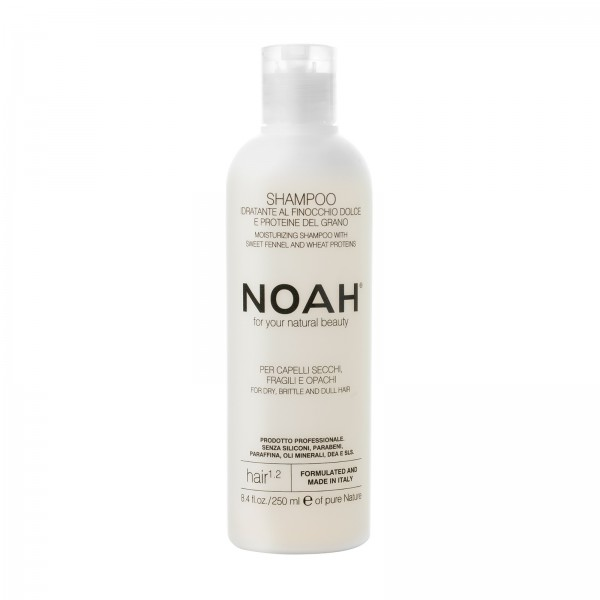 NATURAL SHAMPOO FOR DRY, BRITTLE AND DULL HAIR