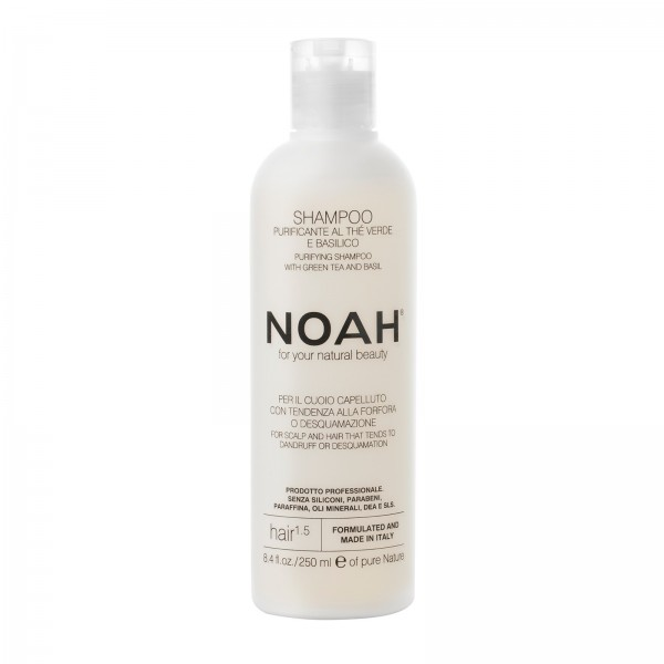 Natural shampoo for hair that tends to dandruff