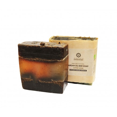 COFFEE SCRUB ARGAN OIL NATURAL BAR SOAP