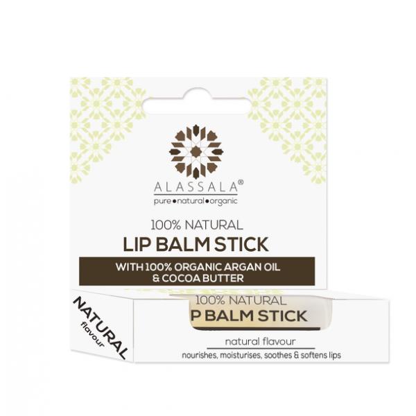 100% natürlicher LIPPENBALSAM mit Bio-Arganöl & Bio-Kakaobutter