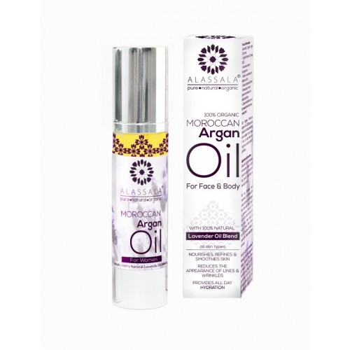 Organic Argan Oil with Lavender Oil Blend