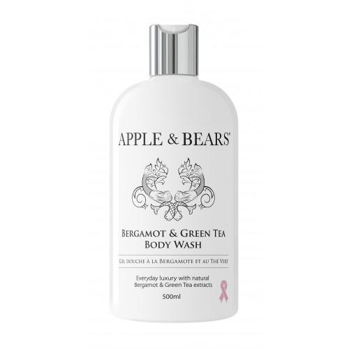 APPLE & BEARS Bergamotte & Grüner Tee Body Wash
