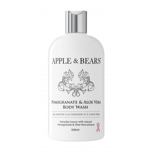 APPLE & BEARS Pomegranate & Aloe Vera Body Wash