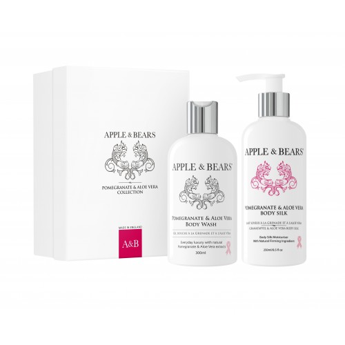 APPLE & BEARS Pomegranate & Aloe Vera Gift Set