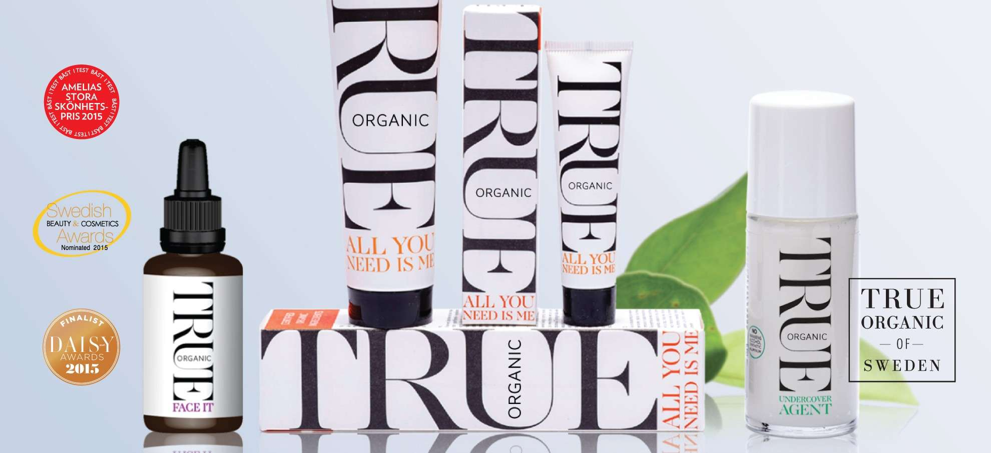 Organic kosmetik - True organic of Sweden