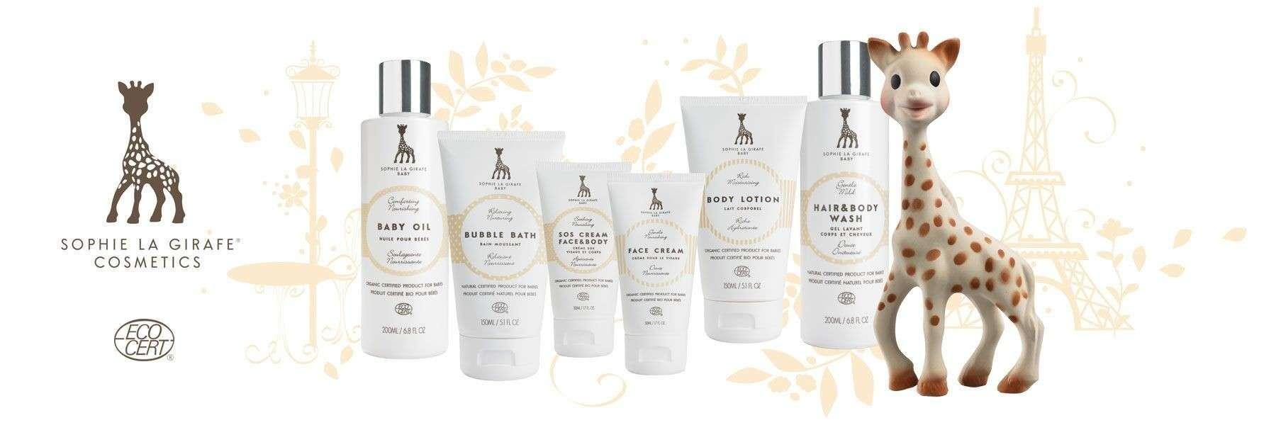 Organic cosmetics - SOPHIE LA GIRAFE