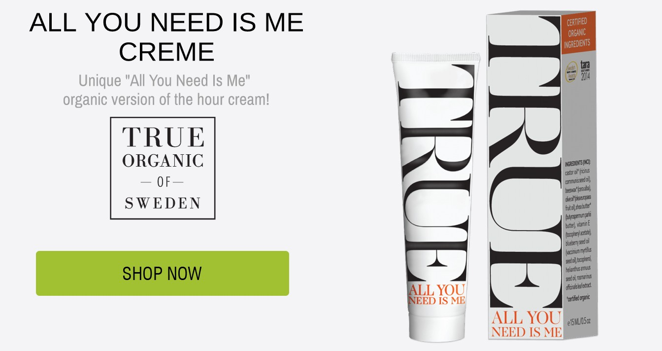 ALL YOU NEED IS ME CREME