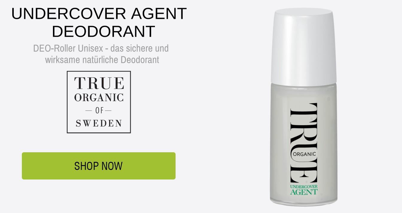 Natürliche Deodorant TRUE ORGANIC OF SWEDEN