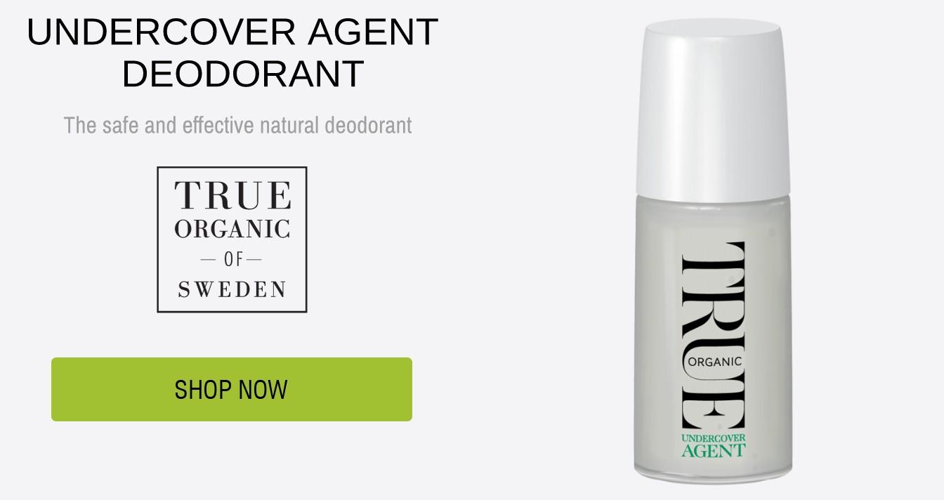 Undercover agent natural deodorant